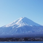 年賀状に富士山の無料画像