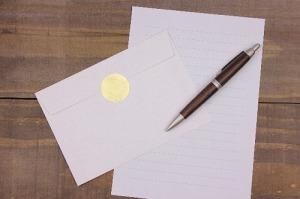 お歳暮のお礼状手紙