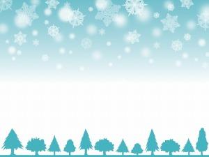 時候の挨拶 12月 雪
