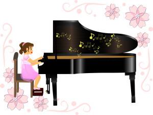 ピアノ発表会の衣装で子供はドレスのレンタル