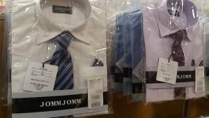 小学校の入学式での服装、男の子のシャツ