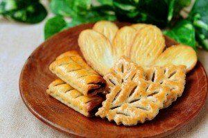 家庭訪問のお茶菓子の出し方_クッキー