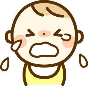 赤ちゃんの夏の布団 泣く