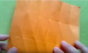 ハロウィンの折り紙 キャンディボックスの手順6