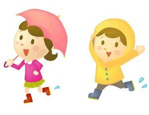 ディズニーランドで雨の日の服装は