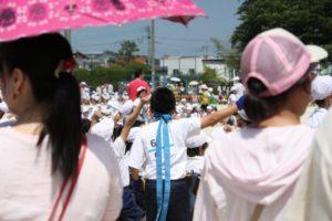 保育園の運動会での服装でママ 日傘はNG