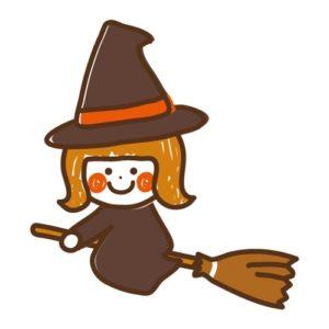 ハロウィン 魔女のほうき 手作り