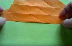 ハロウィンの折り紙 キャンディボックスの手順4