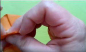 ハロウィンの折り紙 キャンディボックスの手順7