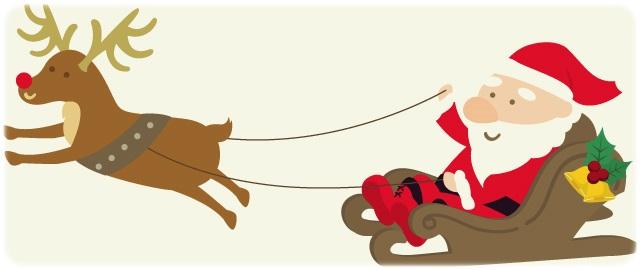 サンタの服が赤い理由 ソリのおじいさん